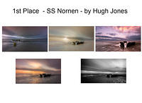 1st. Place - SS Nornen - By Hugh Jones