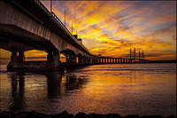 2nd. Place - Sunset at Severn Crossing - Terry Cooper